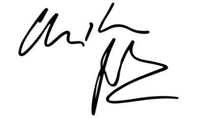 christian bale autograph