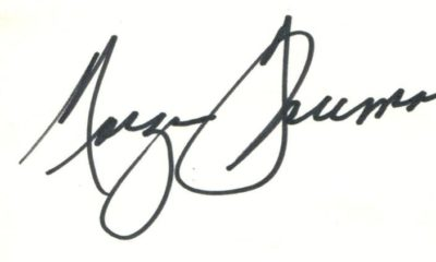 Morgan Freeman Autograph