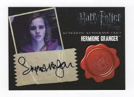 Emma Watson Autograph
